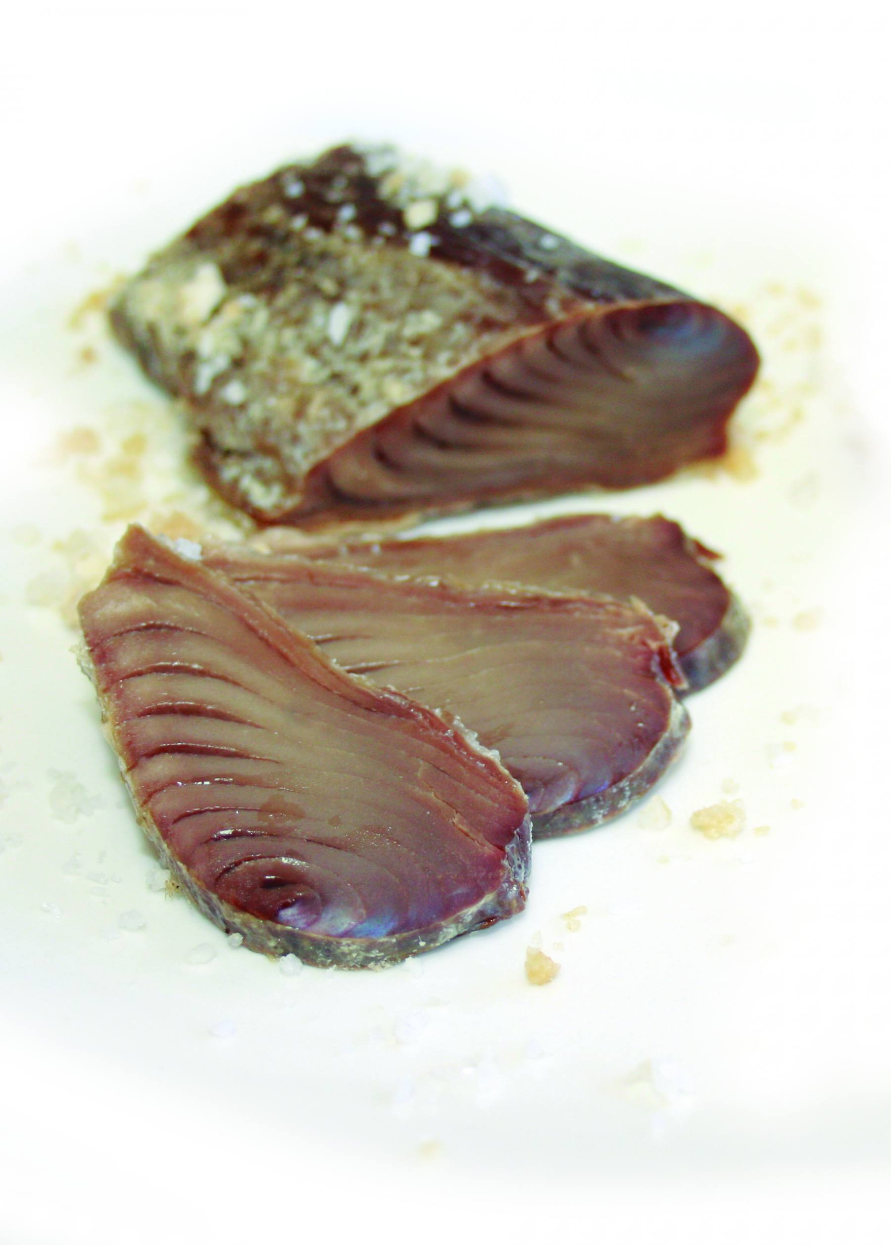 Receta de atún a la sal